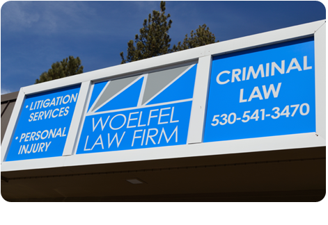 The front of Woelfel Law Firm